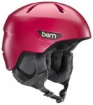 Bern Bristow Helmet satin cranberry red Gr. ML