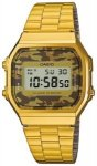 Casio A168WEGC-5EF gold / camouflage (brown) Gr. Uni