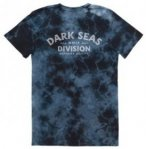 Dark Seas Swell Tie Dye T-Shirt black / crystalwash Gr. S