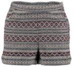 O'Neill High Waist Brick Shorts black aop w /  pink Gr. 26