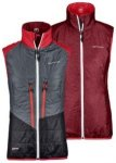 Ortovox Swisswool Piz Grisch Vest dark blood blend Gr. M