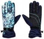 Roxy Jetty Gloves aruba blue_kaleidos flowe Gr. S