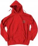 Toy Machine Monster Embroidered Hoodie red Gr. L