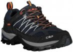 CMP  RIGEL LOW TREKKING SHOES WP, Größe 44 in ANTRACITE-FLASH ORANGE, Größe