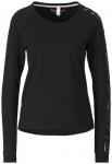 ENERGETICS Damen Longshirt Marina 2, Größe 44 in Schwarz/Rosegold, Größe 44
