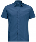 """JACKWOLFSKIN Herrn Funktionshemd """"JWP Shirt Men"""", Größe 3XL in indigo blue"""