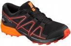 SALOMON Kinder Schuhe SPEEDCROSS CSWP J Bk/Tangel, Größe 32 in Black/Tangelo/C