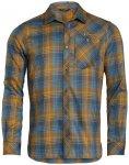 VAUDE Herren Hemd-Bluse Men's Neshan LS Shirt III, Größe L in bronze