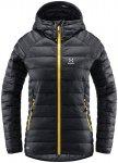 Haglöfs V Series Mimic Kapuzenjacke Damen schwarz XS 2021 Winterjacken, Gr. XS