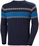 Helly Hansen Wool Knit Sweater Herren blau S 2020 Sweatshirts & Trainingsjacken,