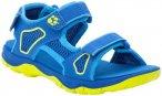 Jack Wolfskin Taraco Strandsandalen Kinder blau/gelb EU 29 2021 Freizeit Sandale