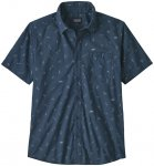 Patagonia Go To Shirt Herren blau L 2021 Kurzarm Hemden, Gr. L