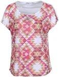 Prana Harlene T-Shirt Damen weiß/rot XS 2016 Freizeitshirts, Gr. XS