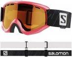 Salomon Juke Access Goggles Kinder pink/orange  2020 Ski & Snowboardbrille