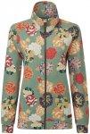 Sherpa Zehma Zip Pullover Damen mechi green print XS 2020 Sweatshirts & Training