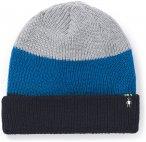 Smartwool Cantar Colorblock Watch Mütze blau/grau One Size 2020 Mützen, Gr. On