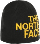 The North Face Reversible TNF Banner Beanie tnf black/tnf yellw logo xl  2019 Wi