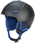 UVEX p1us Pro Helm black blue mat 52-55cm 2018 Ski- & Snowboardhelme, Gr. 52-55c