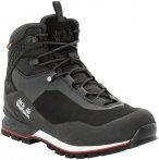Jack Wolfskin Wilderness Lite Texapore Mid-Cut Schuhe Herren black/red UK 10 | E