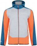 Dare 2b Appertain Softshell Jacket Men Pumpkin Orange/Kingfisher Blue/Ash Grey M