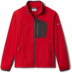 Columbia Fast Trek III Fleece Full Zip Jacke Jugend rot/grau S | 128 2021 Fleece