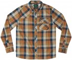 Hippy Tree Loma Flannel Shirt Men copper S 2019 Langarm Hemden, Gr. S