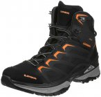 Lowa Innox GTX Mid-Cut Schuhe Herren black/orange UK 11,5 | EU 46,5 2019 Trekkin