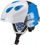 Alpina Grap 2.0 Ski Helmet Juniors white-silver-blue 51-54 cm 2018 Ski- & Snowbo