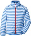 Didriksons 1913 Monte Jacket Kinder malibu blue simple stripe 120 2019 Fleecejac