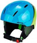 Alpina Carat LX Ski Helmet Kinder green-blue-grey 48-52cm 2019 Ski- & Snowboardh
