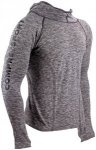 Compressport 3D Thermo Seamless Hoodie grey melange L 2018 Kompressionsshirts, G