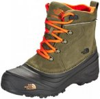 The North Face Chilkat Lace II Boots Kinder tarmac green/scarlet ibis US 13 | EU