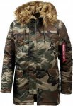 Alpha Industries N3B VF 59 Parka Herren Winterjacken L Normal