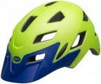 Bell Sidetrack MIPS Helmet Youth matte bright green/blue Unisize | 50-57cm 2019