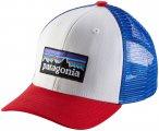 Patagonia Trucker Cap Kinder weiß/rot  2021 Kappen