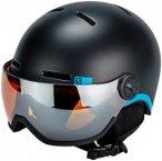 Salomon Grom Visor Helmet Juniors Black KS   49-53cm 2018 Ski- & Snowboardhelme,