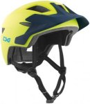 TSG Cadete Solid Color Helmet Youth satin acid yellow-blue XXS/XS | 51-54cm 2018