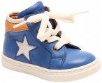 Bisgaard - Kid's Uffe - Sneaker 19;20;21;22;23;24;25 blau/weiß;orange/weiß/bei