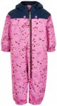 Color Kids - Baby's Coverall Dots - Overall Gr 80;86;92;98 rosa;blau/türkis
