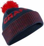 Craft - Core Retro Logo Knit Hat - Mütze Gr One Size schwarz/lila/rot;schwarz