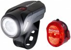 Sigma - Aura 35 USB K-Set - Fahrradlampen-Set schwarz