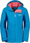 Jack Wolfskin Grivla Jacket Kinder Gr. 152 - Regenjacke - blau