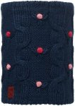 Buff Knitted und Polar Fleece Neckwarmer Dysha Junior dark navy