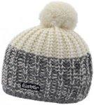 Eisbär Focus Pompon Mütze graumelange/weiß