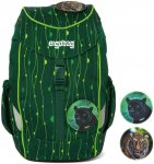 ergobag mini Kinderrucksack LUMI Edition rambazambär (grüne lianen)