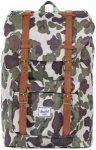 Herschel Little America Mid-Volume Backpack frog camo/tan synthetic leather