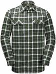 Jack Wolfskin Bow Valley Shirt Men ebony checks 3XL (60)