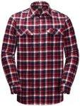 Jack Wolfskin Bow Valley Shirt Men red blue checks M