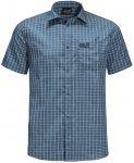 Jack Wolfskin El Dorado Shirt Men night blue checks 3XL