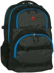 Take It Easy Schulrucksack Oslo-Flex tweed schwarz